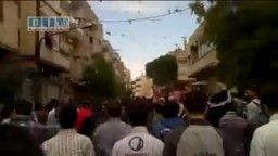 شام - حمص - الخالدية و مظاهرة الجمعة العظيمة 22-4