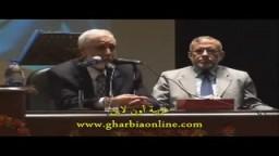 د/ محمود عزت نائب المرشد العام .. ضيف على جامعة طنطا ج 1