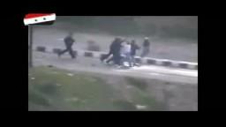 درعا بسوريا - اعتقال المواطنيين من قبل عناصر المخابرات