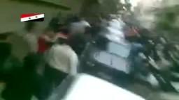 التل - ريف دمشق - مظاهرات جمعة الغضب لنصرة درعا