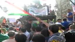 مظاهرة  من امام السفاره الصهيونيه فى مصر للاحتفال بالمصالحة  وطلب وقف تصدير الغاز