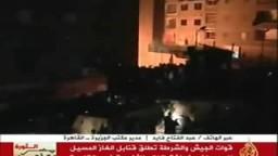 قوات الجيش المصرى تحكم سيطرتها على أحداث العنف بكنيسة إمبابة