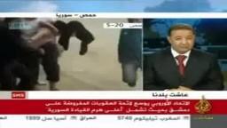 برهان غليون : نطالب الدول العربية ان توقف العنف في سورية