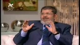 حوار د/ محمد مرسى عن شبهات تدور حول الإخوان بعد الثورة 2