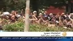 الجزيرة تقرير زياد بركات حصاد يوم 15