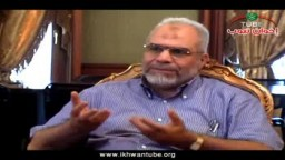 لقاء حصرى مع د/ محمود غزلان المتحدث الإعلامى للإخوان : مشاركة الإخوان فى جمعة الاستقرار 7/29