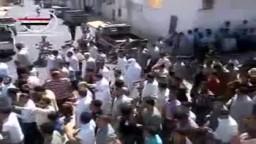 سوريا-- مقتل 29 شهيدًا اليوم  في جمعة إننا ماضون