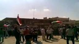 سوريا_ الحسكة راس العين مظارهات الاحرار تنديدا بقتل المعارض مشعل تمو 8 10 2011