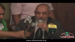 لقاء فضيلة المرشد العام أ.د/ محمد بديع  مع وفد من شباب الأقباط