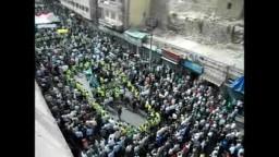 الأردن-- مئات الآلاف يتظاهرون بجمعة  - لن ترهبونا-