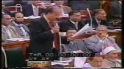 الدكتور محمد البلتاجي متألقا في مجلس الشعب