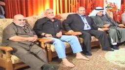 القائد اسماعيل هنية يعقد قران أبو سرحان على كريمة القيادي حسن يوسف على الهواء مباشرة