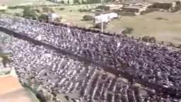 حشود مليونية في جمعة الاستقلال بصنعاء