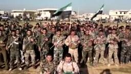 انشقاق أكبر عدد من الجيش السورى وتكوين كتيبة جبل الزاوية تحت لواء الجيش السوري الحر 15 12 2011 إدلب