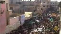 سوريا- استشهاد 22 قتيل في جمعة الجامعة العربية تقتلنا