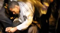 لحظة استشهاد الشيخ عماد عفت من علماء الأزهر وصاحب فتوى تحريم التصويت لفلول الوطني في أحداث مجلس الوزراء