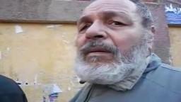 أحداث يوم الاعادة -- حوار مع أحد كبار السن من أمام مدرسة رفاعة الطهطاوي