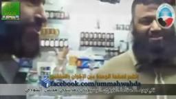 شاهد ماذا فعل احد كوادر الاخوان بمرشحي حزب النور لمجلس الشورى بدمياط