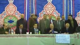 لحظة إعلان نتيجة فوز م/ إبراهيم أبو عوف وخالد الحداد على مرشحى النور والفلول