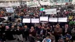 سوريا-- ادلب بنـــش بانتظار قدوم اللجنة العربية 17 1 2012