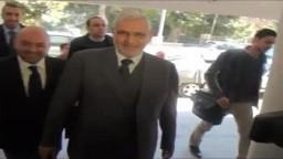زيارة د. عبدالمنعم أبوالفتوح لحزب الحرية والعدالة