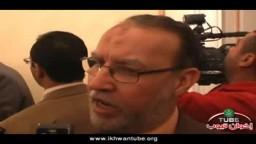 حصرياً .. د/ عصام العريان على هامش اجتماع الهيئة البرلمانية لحزب الحرية والعدالة