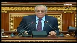 كلمة وزير الداخلية  فى  جلسة مجلس الشعب 31/ 1/ 2012