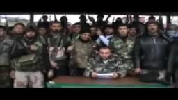 سوريا- الرستن 17 2 2012 تشكيل كتيبة ابي بكر الصديق.