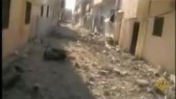 أنقذوا حمص -- عملية عسكرية هي الأعنف ضد حمص  1/ 3