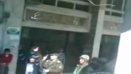 إعتداء التراس مصراوي علي الجيش وعبورهم السلك الشائك في أحداث اليوم