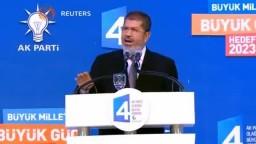 مرسي- لن نهدأ حتي تزول القيادة السورية الظالمة