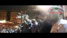 حصريا نجوم الرياضه. في اعتصام التحرير 23/ 6/ 2012