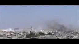 حمص البياضه قصف عنيف من قبل عصابات الاسد 19 4 - .