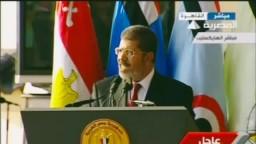 د/مرسي لرجال القوات المسلحة- أعدوا العدة لحماية مصر