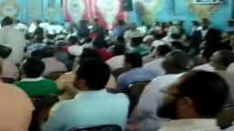 جانب من الحضور الجماهيرى فى مؤتمر د_مرسى فى أسوان