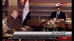 مرسي يمارس عمله من قصر عابدين للمرة الأولى.
