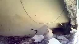 التريمسية آثار الدمار والخراب جراء قصف عصابات الاسد