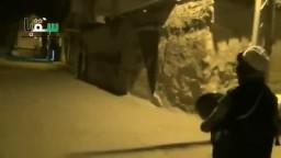 مسحر رمضان برفقة الجيش الحر في سقبا - بسوريا