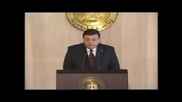 مؤتمر صحفي للمتحدث باسم رئاسة الجمهورية 1-10-2012