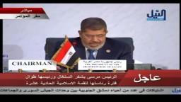 مرسي_ ثورة يناير حجر الزاوية لإنطلاق الأمة
