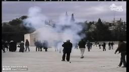 تدنيس الاحتلال الصهيوني  للمصحف بالأقصى