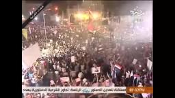 متظاهرو رابعة العدوية يتحدون حكم العسكر