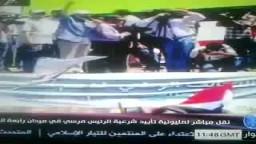 حصار الحرس الجمهوري لأخراج الرئيس مرسي5-7