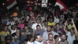 الاسماعيلية تنتفض لرفض الانقلاب العسكرى