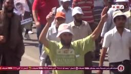 حشود بالالاف من مسجد الفتح برمسيس الى رابعة