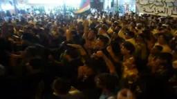 التراس مطروح فى مظاهرات مليونية ختم القرأن