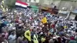 حشود هائلة تزلزل المنيا - الجمعة 20 _9