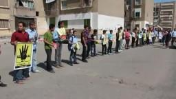 وقفة لحركة طلاب ضد الإنقلاب ببورسعيد 26/ 9