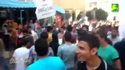 مسيرة حاشدة لطلاب الشرقية ضد الانقلاب