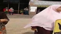 وقفه طالبات اقتصاد منزلي جامعة المنوفية